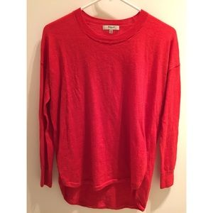Red Madewell Sweater